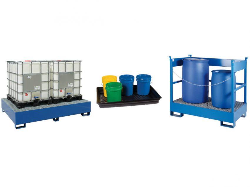 Lagersysteme für wassergefährdende Flüssigkeiten