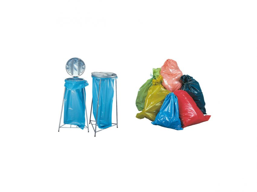 Säcke und Inliner aus Kunststoff